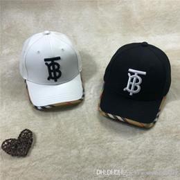 2019 vr 46 hat 19SS de lujo del diseño de marca BBR TB bordado Logos Caps mujeres de los hombres de moda el sombrero gorra de béisbol al aire libre Streetwear Snapbacks