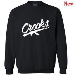 2019 diamant gauner hoodie Crooks and Castles Pullover Diamant Hoodie freies Verschiffen Hip-Hop-Sweatshirts Winterklage Baumwolle schwitzt Herren Sweatshirt W-2 günstig diamant gauner hoodie