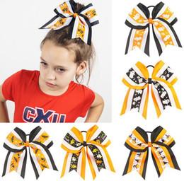 Acessórios de andorinha on-line-7 polegadas Halloween Headwear Arco de Cabelo Para Crianças Com Anel de Cabelo Arcos Swallow Cauda Forma Colorida Acessórios Para o Cabelo Vestindo Kit DIY