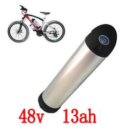 Литиевая батарея с водяной балкой онлайн-Нет налога на 48В 13AH бутылка воды для samsung элементная литий ионный бутылка аккумулятор электрический велосипед подойдет Бафане/8fun BBS02 750 Вт мотор 1000W