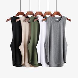 2019 camisa do tanque do tigre Nova roupa da aptidão em branco sem mangas dos homens Ginásios Stringer regatas Bodybuilding Regatas Homens Sportwear Undershirt moda Vest