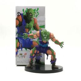 Figuras de ação do filho goku on-line-Bola de dragão Z Piccolo Super Saiyajin Gohan Hercule Mark Piccolo PVC figura de ação Broly son goku Dragonball modelo crianças brinquedos