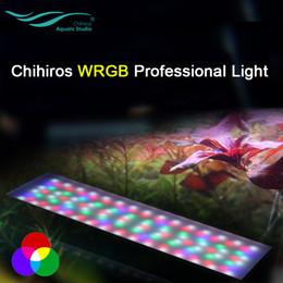 Argentina Sistema de iluminación LED Chihiros WRGB Para Plantado luz del acuario profesional Chihiros acuario de iluminación LED para la planta de luces del agua Suministro