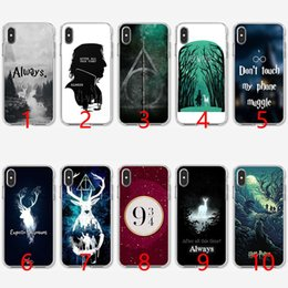 2019 iphone harry potter Toujours Harry Potter Coque en TPU Silicone souple pour iPhone 5 5S SE 6 6S 7 8 Plus X XR Couverture Max XS iphone harry potter pas cher