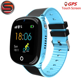 SOVO Анти-Потерянный SK07 Детский GPS-Трекер SOS Смарт Мониторинг Позиционирование Телефон Дети GPS Детские Часы Совместимые IOS Android от