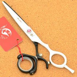 tijeras de pelo de oro Rebajas Meisha 6,0 pulgadas de 360 grados giran Profesional Tijeras de corte de acero 9CR Maquinilla Salón de las tijeras de reducción para los peluqueros HA0353