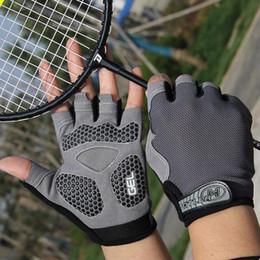 Schockzubehör online-Upgrade Fahrradhandschuhe Mountainbike Handschuhe Half Finger Biking Handschuhe | Anti-Rutsch-Shock-Absorbing-Gel-Pad Atmungsaktives Fahrradzubehör