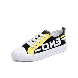Lettere FF Ragazze Moda Scarpe di tela Studenti Sport Palestra Scarpe da tavola Fends Primavera Estate Lacci delle scarpe Tennis Sneakers Scarpe
