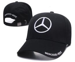 Entrega gratuita de Venda Quente Mercedes-Benz dos homens de Algodão Preto Ajustável Macio E Confortável Sombrinha de Esportes Ao Ar Livre Boné de Beisebol de Fornecedores de hoodie de venda quente