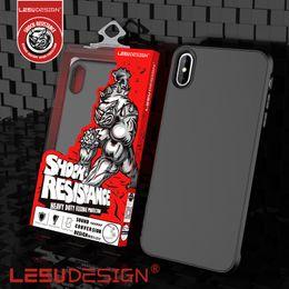 LEEU DESIGN nouveau luxe mat antichoc tpu anti-choc protection cas de couverture de téléphone mobile pour iphone xr xs max 5.8 6.1 x 6 7 8 s8 plus ? partir de fabricateur