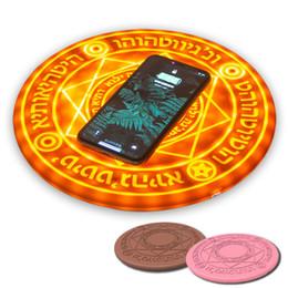 стандартная зарядка зарядного устройства qi Скидка Магия массив беспроводное зарядное устройство универсальный стандарт Ци 5 Вт 10 Вт Magic Circle быстрое зарядное устройство Зарядка pad для iPhone Samsung Huawei