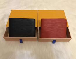 2019 scatola elegante del regalo del regalo Portafoglio lungo delle nuove donne Borsa di modo delle signore della borsa del raccoglitore del cuoio delle donne del raccoglitore della borsa di lusso di trasporto libero della borsa lunga lunga