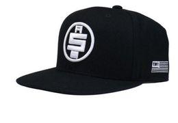 2019 chapeau ajusté en soie Nipsey hussle Chapeaux Hommes Femmes Noir Eté Printemps Mode Chapeau De Baseball TMC Drapeau Snapback Cap