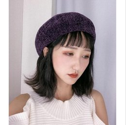 9c2e153c3b9 Hot Sell 2019 Winter Beret Women Red England Painter Hat Bud Pure Wool Hats  Woman Winter Beret Girl French Artist Beanie Hat