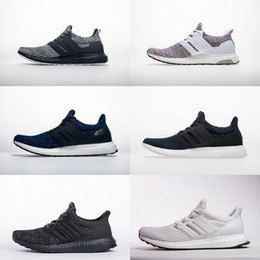 zapatos parley Rebajas Best Qaulity Parley Legend Ink Blue Tripe Black White Sneakers Ultra 4.0 boots Breast Cancer Awareness Hombres Mujeres Zapatos para correr Tamaño 36-45