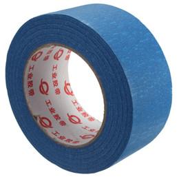 50mm x 50 m 50 mm de largura 3d impressora azul tape reprap cama fita fita adesiva para peças de impressora 3d de Fornecedores de transformador de fita