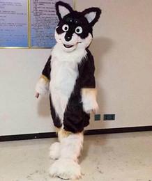 marrone husky cane Sconti NUOVO cartone animato Brown dog fox Husky Mascot, foto fisiche di fabbrica, qualità garantita, benvenuto agli acquirenti per la valutazione e le foto del carico