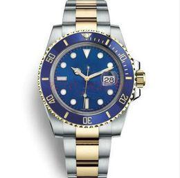 2019 orologi di lusso di immersione di lusso orologi Orologio automatico automatico di qualità meccanica lunetta in ceramica Quadrante nero acciaio inossidabile luminoso acciaio inossidabile MASTER Orologi da polso