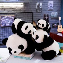 2019 façonner des jouets Nouveau Mode Mignon Panda Forme En Peluche Jouet Doux enfant Peluches Animaux Poupée Décoration de La Maison Nouveau Mignon enfants En Peluche Jouet promotion façonner des jouets