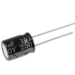 250V 22uF 250Volt 22MFD Electrolytic Capacitor 10mm×16mm
