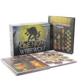 Английские пазлы онлайн-One Night Ultimate Werewolf настольные игры оборотни для бара home party английская версия карты новинка рассвет торговая карта интеллектуальная головоломка