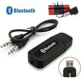 pontos de áudio Desconto Receptor Bluetooth Stereo USB Música Bluetooth Dongle Receiver Kit sem fio com 3,5 mm de áudio Cabo Para Smartphones