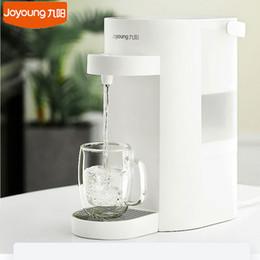 Joyoung 2000ml Capacità serbatoio acqua Dispenser acqua della famiglia di pulizia della macchina veloce di ebollizione Desktop depuratore di acqua Dispenser controllo della temperatura da gomma bottiglia fornitori