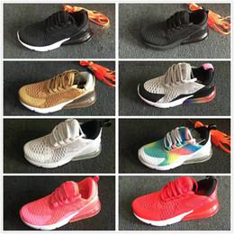 online store 04517 1e2a5 nike air max airmax 270 vapormax Infantile air coussin 270 enfants  chaussures de course noir blanc 270 270 en plein air enfant en bas âge  sportif garçon ...