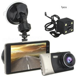 "max recorder Promo Codes - Exquisite 4"" Car Dvr Dual Lens Hd 1080p Dash Cam Video Recorder Camera Touch Screen Dc 5v 1a Tf 4g Max To 32g"
