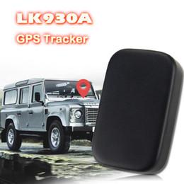 Rastreador gps usado on-line-LK930A GPS Tracker GPS Locator Para Veículo Carro Uso Pessoal 6000Mah Bateria por 60 Dias em espera com Histórico à prova d 'água