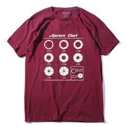 Gráfico de ropa online-Ropa de diseño para hombre marca polo algodón Aperture Chart imprimir hombres camiseta casual manga corta camiseta de los hombres o-cuello camiseta de verano camiseta