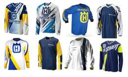 Sudadera zorro online-Maillots de motocross Camisetas SHORT OFF ROAD moto Ciclismo en bicicleta Sudaderas transpirables MTB tld fox Maillot de descenso rápido Secado rápido