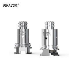 2019 bobine di sostituzione a fumo Autentica bobina SMOK Nord Coil da 0.6 Ohm e 1.4ohm Regular Ceramic Cores per batterie MTL Vaping 100% SmokTech Nord Pod bobine di sostituzione a fumo economici