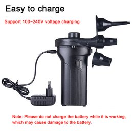 Battery Air Pump Airbed Kids Toy New Battery Included Car Dc /& 110 V Ac Adapter- Electric Pumps Inflate Deflator Quick-Fill Mattress for Inflatables Tire Raft Bed Boat Float Pool