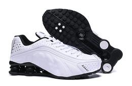 Cunei di scarpe da corsa online-I più nuovi Shox consegnare 809 uomini Air Running Shoes Drop Shipping all'ingrosso famosi DELIVER OZ NZ Mens Athletic designer Sneakers zeppe Sport