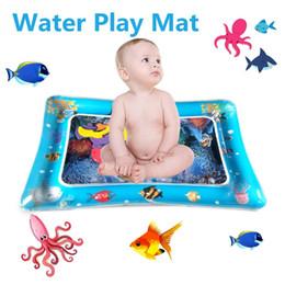 2019 doble uso del juguete del bebé inflable patted pad bebé postrado agua cojín Pat Pad agua cojín pat juguete desde fabricantes