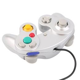 Sıcak satış Gamepad Nintendo Game Cube için Oyun Kontrol Pad Joystick ücretsiz kargo nereden yüksek bas kulaklıklar tedarikçiler
