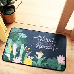 Planta World Floor Mat Repetible Ambiental Sala de estar Cocina desde fabricantes