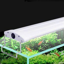Peces de acuario tanque de luz 9w / 12w / 13w / 15w / 16w / 18w luz LED 21/26/31/35/41 / 45CM sumergibles luces con ménsula extensibles desde fabricantes