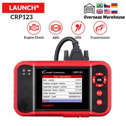 инструменты диагностики yamaha Скидка LAUNCH Creader CRP123 Поддержка Двигатель / ABS / SRS / Transmission Автомобильный Code Reader Автомобильный диагностический инструмент CRP 123 Сканер бесплатное обновление