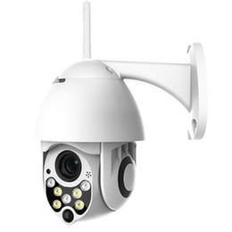 Caméra à distance ptz en Ligne-Zoom numérique 4x Super mini P2P Onvif extérieure étanche HD 1080P Vue à distance WIFI Caméra PTZ