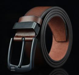 Diseñador de la vendimia Cinturones de Marca Famosos Hombres de Negocios Cinturones Aguja Hebilla de Cuero Cinturones de Lujo Adolescentes Venta Caliente desde fabricantes