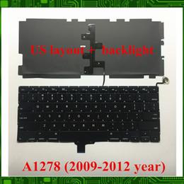 """Macbook 13 hintergrundbeleuchtung online-NEU Für Macbook Pro 13 """"A1278 US-Tastatur mit Hintergrundbeleuchtung 2009 2010 2011 2012 JAHRE"""