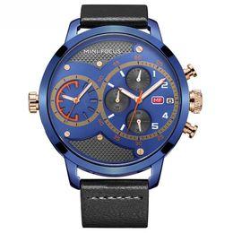 Argentina Reloj Cronógrafo de doble hora Reloj de cuarzo grande Relojes para hombres Reloj deportivo de primera marca Reloj relogio masculino Suministro