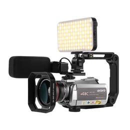 Taiwan Oda AC5 Videocamera ad alta definizione 4K DV Professionale 12 volte ottico X Zoom digitale 100 volte Home Turismo da