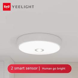 2019 потолочные светильники [HOT]Xiaomi Mijia Yeeligh t Sensor Led ceiling Mini Human Body / motion Sensor light mini smart motion night Mi light For home скидка потолочные светильники