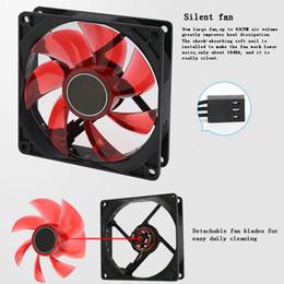 Ventilador de refrigeração duplo do refrigerador do computador do radiador 9cm do dissipador de calor do ventilador do processador central do diodo emissor de luz para Intel LGA775 / 1155/1156/1150 AMD para o processador central de