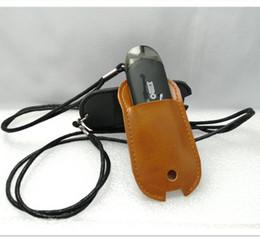 Caso di trasporto della batteria online-Zero Cuoio Catena cordino al Custodia Borsa per il trasporto Shell riguarda la collana manica corda per Zero Vape Pen Pod Battery Kit