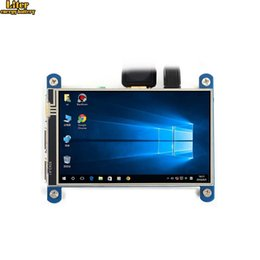 raspberry pi lcd touch screen Coupons - 4inch Resistive Touch Screen IPS LCD (Type H) 480x800 HDMI interface Designed for Raspberry Pi