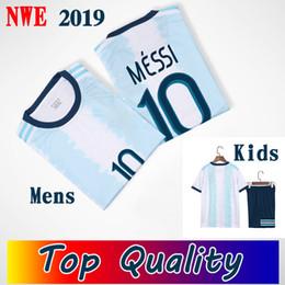 Canada Hommes + Enfants 2019 MESSI maillots de football maillot de football argentine Camiseta de futbol supplier futbol kids Offre